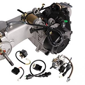 TMS-Short-Case-150cc-Gy6-Scooter-Atv-Go-kart-Engine-Motor-150-Cvt-Auto-Carb-Complete-0