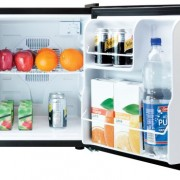 Culinair-Af100s-17-Cubic-Foot-Compact-Refrigerator-Silver-and-Black-0-0